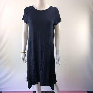 Medium Size Dress Navy Blue Knee Length